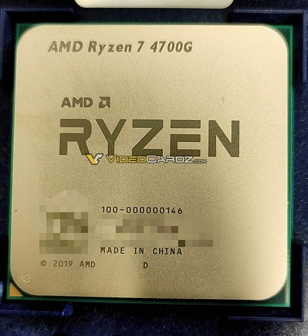 7nm Zen2终极大礼!AMD全新桌面锐龙APU型号、规格全曝光